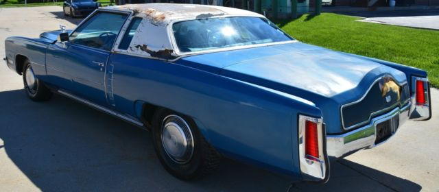 RARE Custom Dunham 72' Cadillac Eldorado Superfly Flashcar 53K
