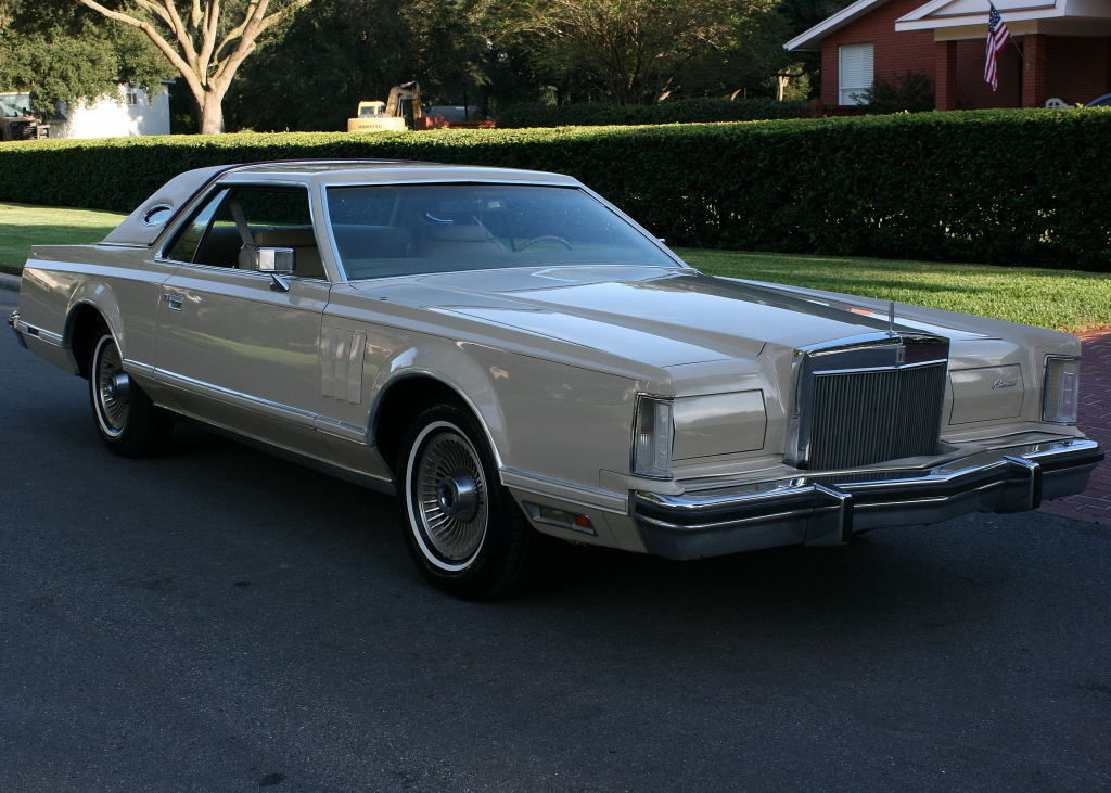 1979 Lincoln Mark Series MARK V - CARTIER TWO OWNER - 35K MI