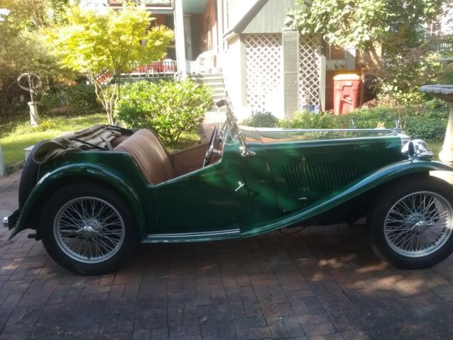 1946 MG T-Series New Leather
