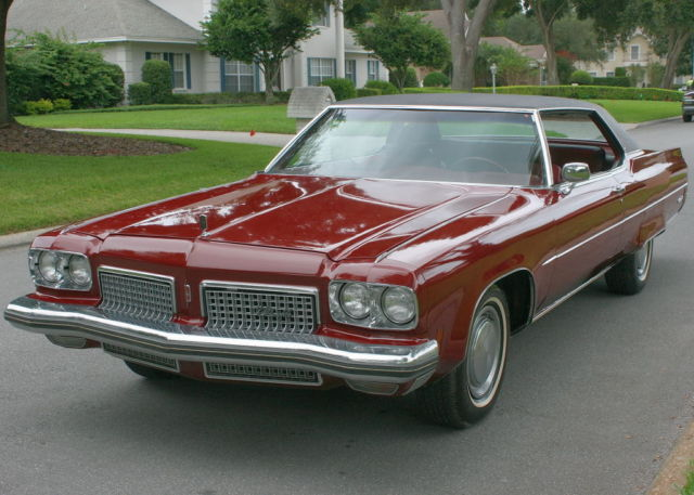1973 Oldsmobile Ninety-Eight LS COUPE - TWO OWNER - 68K MILES