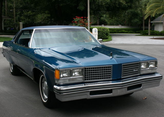 1976 Oldsmobile Ninety-Eight REGENCY - TWO OWNER - 55K MILES