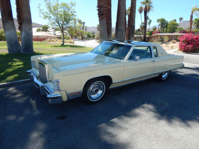 1977 Lincoln TOWN COUPE