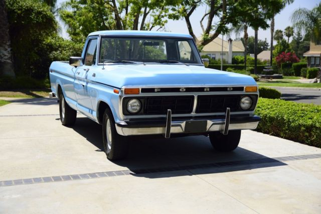 1977 Ford F-100 Custom-302 V8-Automatic-Extra Clean-Inspected-