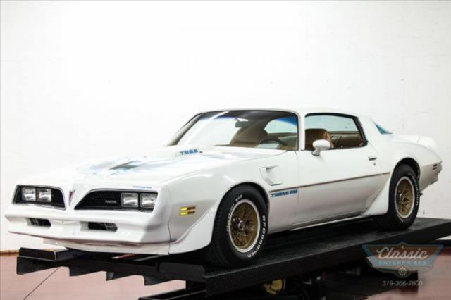 1978 Pontiac Firebird Clean Fast original 4 Speed Option Documentation
