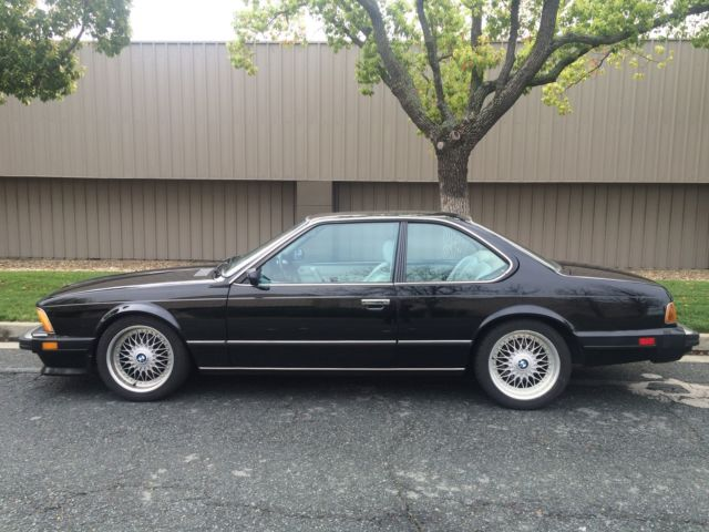 1987 BMW 6-Series 635CSi, E24