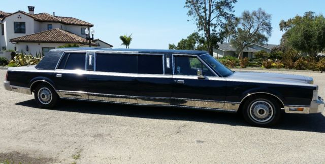 Rare Lincoln Widebody Stretch Limousine 1 Of A Kind For Sale