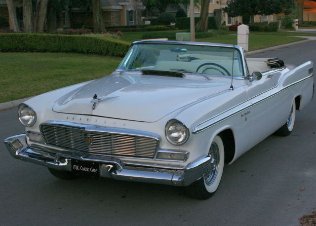 1956 Chrysler New Yorker CONVERTIBLE - HEMI V-8 - 56K MI