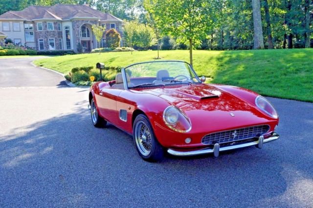 1960 Replica/Kit Makes 250 GT California