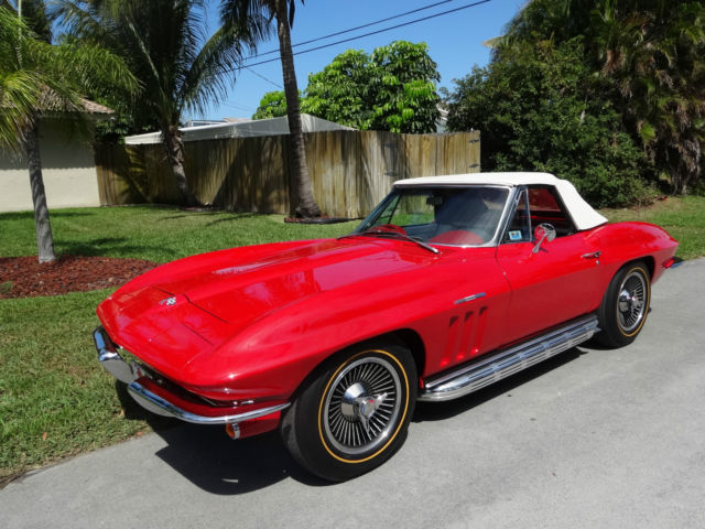 1965 Chevrolet Corvette 375hp L-84 Fuel Injected