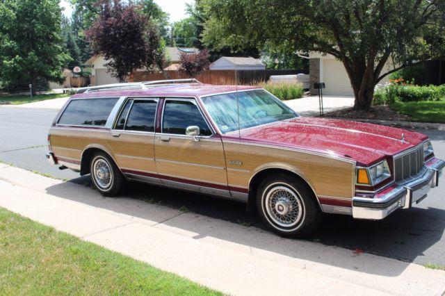 rare pristine 1988 buick lesabre electra estate station wagon for