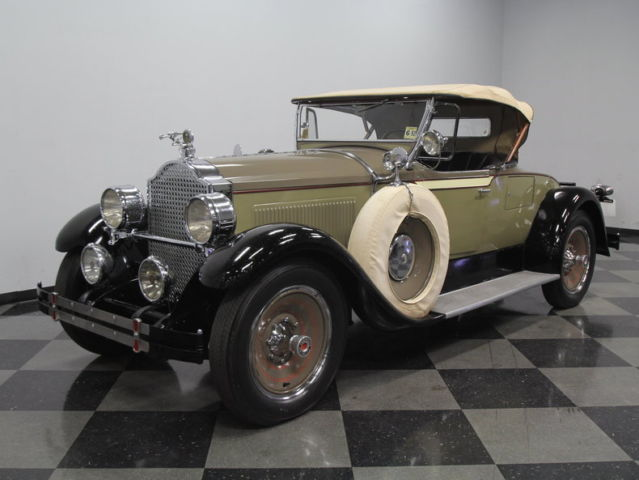 1928 Packard 526 Runabout Roadster