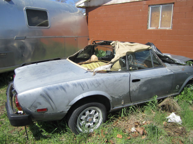 1981 Fiat Other 1981 Spider Only 700 ever built with the TURBO!