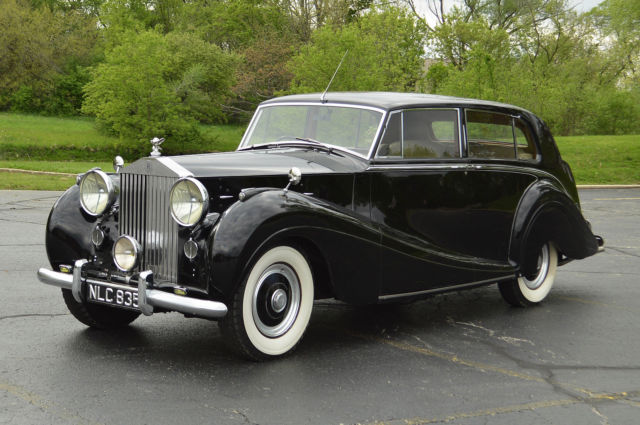 1953 Rolls-Royce Post War Silver Wraith Touring Limousine