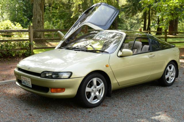 RARE Toyota Sera with 5 speed manual transmission. JDM RHD