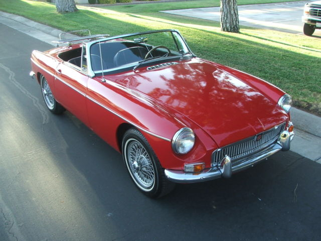 1963 MG MGB Roadster