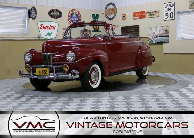 1941 Ford Super Deluxe Convertible