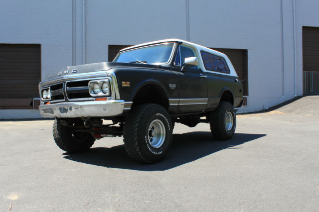 1972 GMC Jimmy 1972 GMC JIMMY 4X4 NOT K5 BLAZER