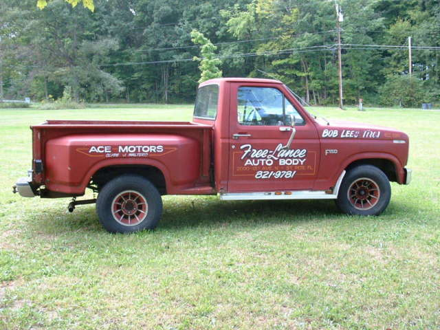 1984 Ford F-150 STEP SIDE SHORT BOX
