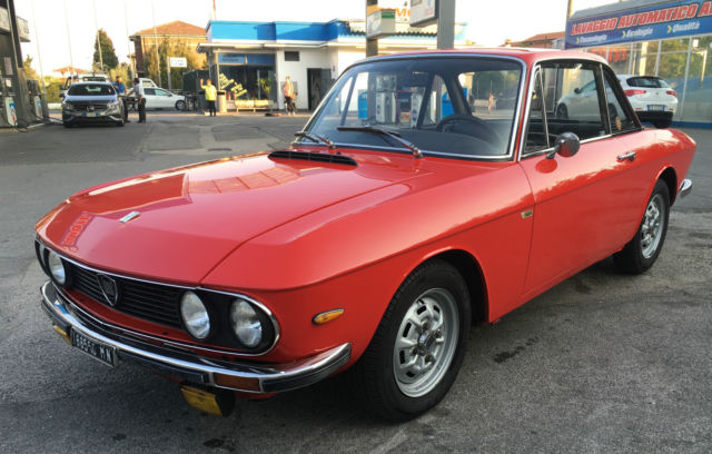 1973 Lancia Fulvia 1,3 S Coupè 5 speed in Racing Red