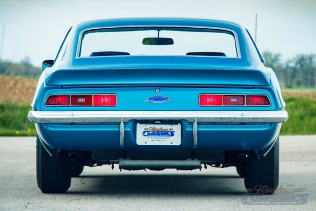 Real 1969 Copo Camaro 427 425hp 4 Speed Certified Concours Gold Documented For Sale Photos