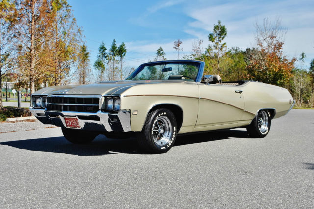1969 Buick GS400 Spectacular GS 400 Numbers Matching Convertible