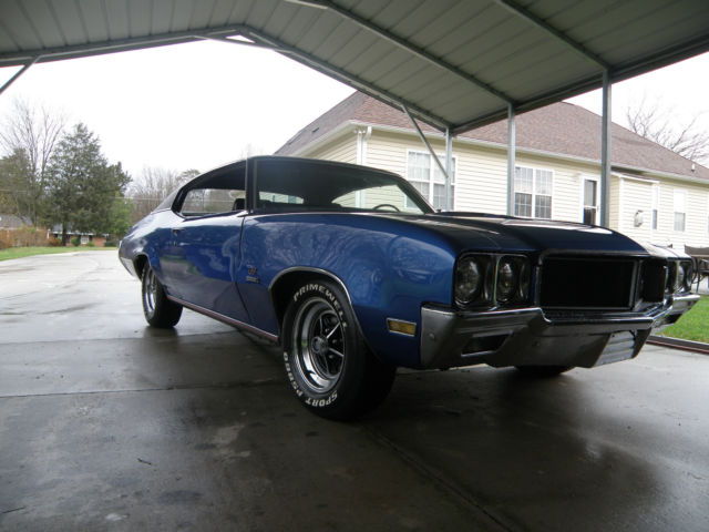real deal 1970 buick gs 455 stage 1 - 4 speed for sale: photos