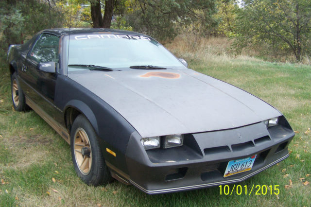 1984 Chevrolet Camaro Gold Edition