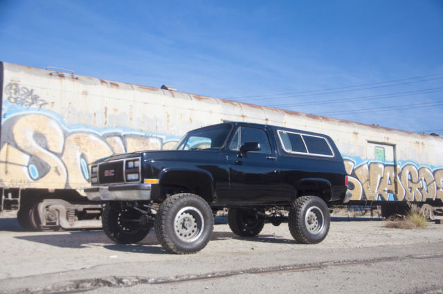 1991 GMC Jimmy LAST YEAR MADE GMC K5