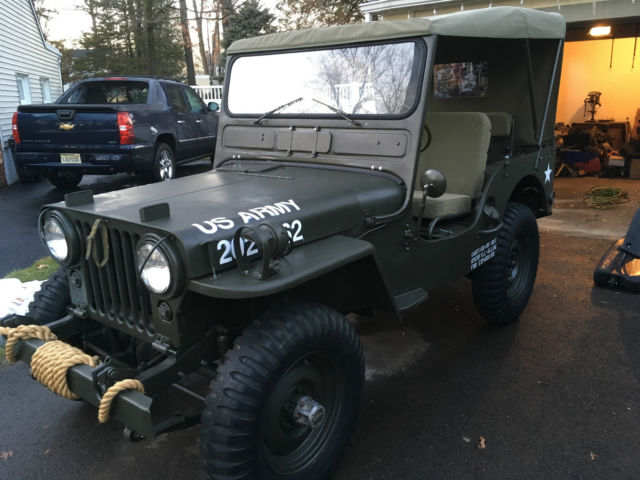 1951 Willys M38 Military
