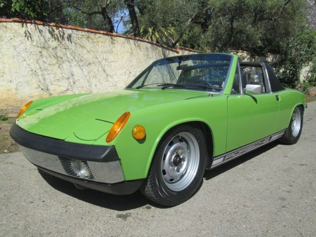 1971 Porsche 914 Rust Free Numbers Matching CA Survivor