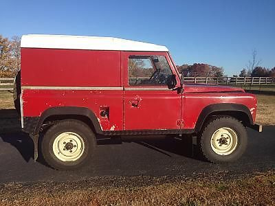 1980 Land Rover Defender 90 Wagon