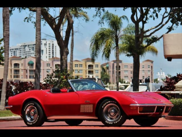 1972 Chevrolet Corvette Stingray Convertible Automatic