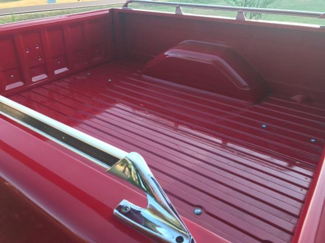 1985 Red Chevrolet C-10 Silverado -- with Red interior