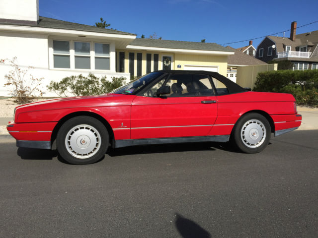 1992 Cadillac Allante 2 door convertible