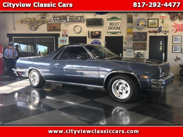 1984 Chevrolet El Camino Base Standard Cab Pickup 2-Door