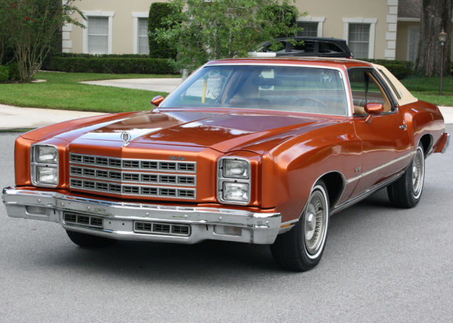 1977 Chevrolet Monte Carlo REFRESHED - 51K MILES