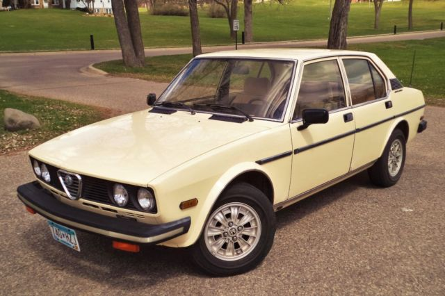1979 Alfa Romeo Alfetta Sports Sedan