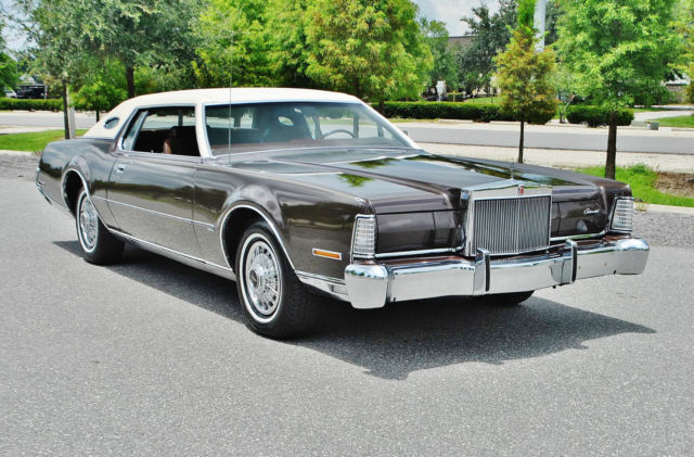 1973 Lincoln Mark Series 1 of the best original 73 marks in the U.S