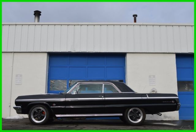 1964 Chevrolet Impala SS 409 Dual Carbs 4 Speed Restomod Restored Look