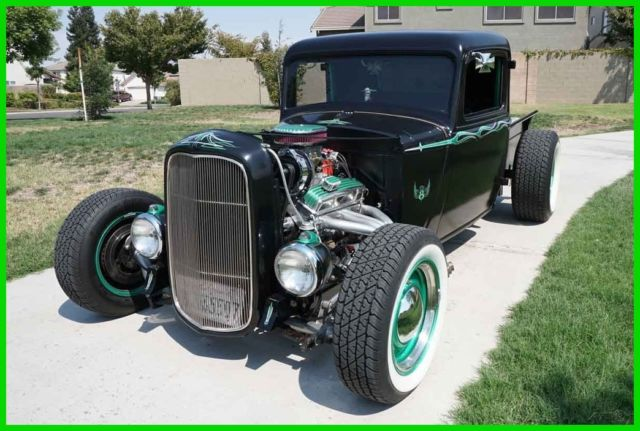 1933 Dodge Pickup Truck Suede and Chrome StreetRod