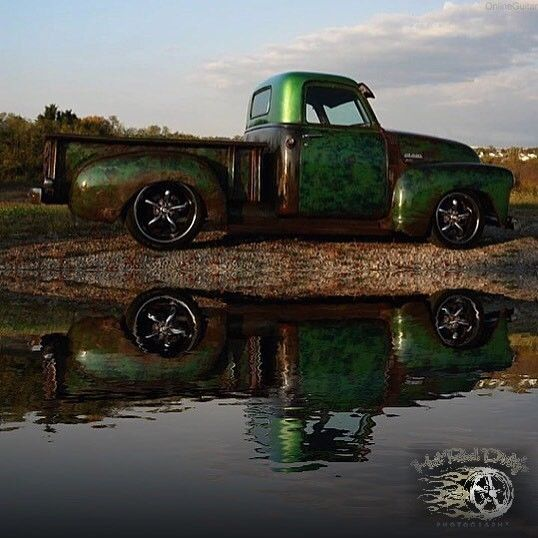 1949 Chevrolet C-10 3100 Hot Rod Patina Shop Truck