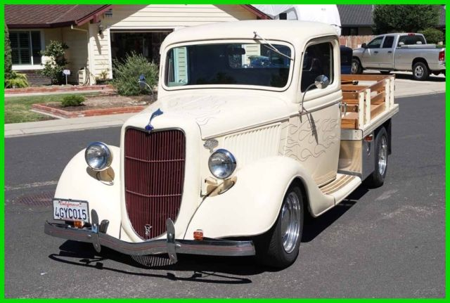 1935 Ford Flat Bed Oak Side Rails Flat Bed Stake Side Truck Street Rod