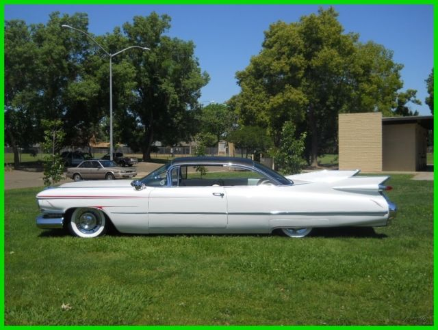 1959 Cadillac DeVille Coupe 2 Door Hardtop California