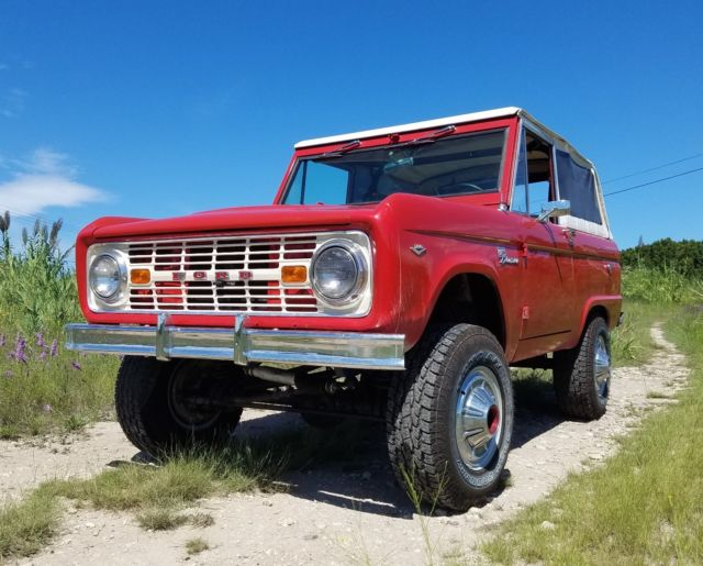 restored 1967 ford bronco sport upgraded for sale photos technical specifications description. Black Bedroom Furniture Sets. Home Design Ideas