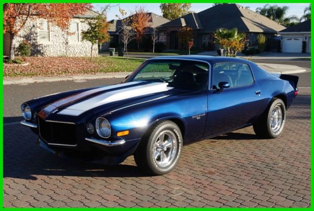 Restored 1970 Camaro Rs 350 350 Posi Ps Pdb Ac 67 68 69 Ss Stripes
