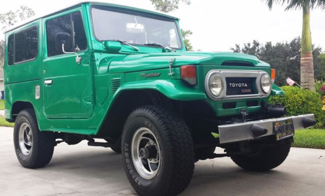 1978 Toyota Land Cruiser BJ-40 like FJ-40