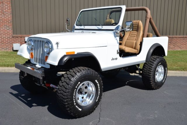 Jeep Cj7 Parts >> RESTORED 1986 JEEP AMC CJ7 MANUAL FRESH RESTORATION for ...