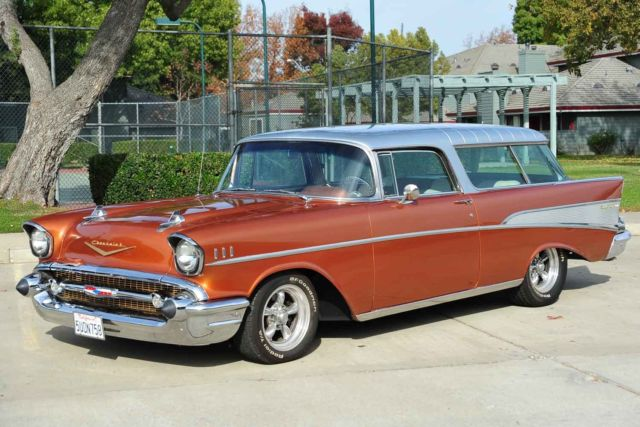 1957 Chevrolet Bel Air/150/210 Nomad Station Wagon