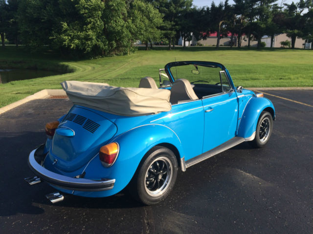 Restored Beautiful 1974 Volkswagen Super Beetle Karmann Ghia Convertible Bug for sale: photos ...