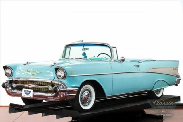 1957 Chevrolet Bel Air/150/210 Convertible Overdrive Power Pac Classic  57